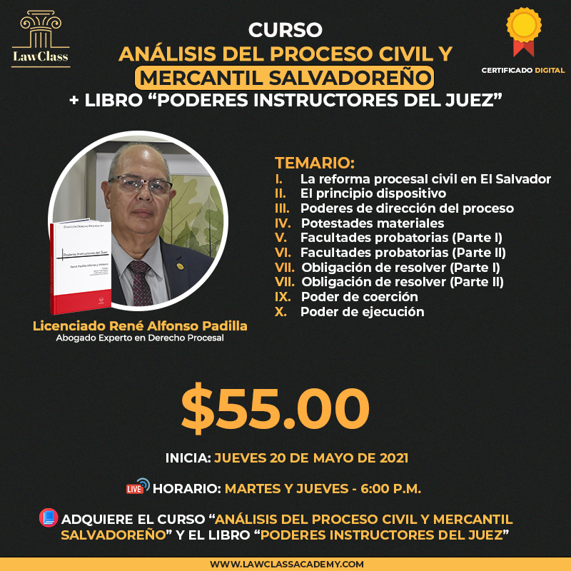 CURSO ANALISIS DEL PROCESO CIVIL CON LIBRO